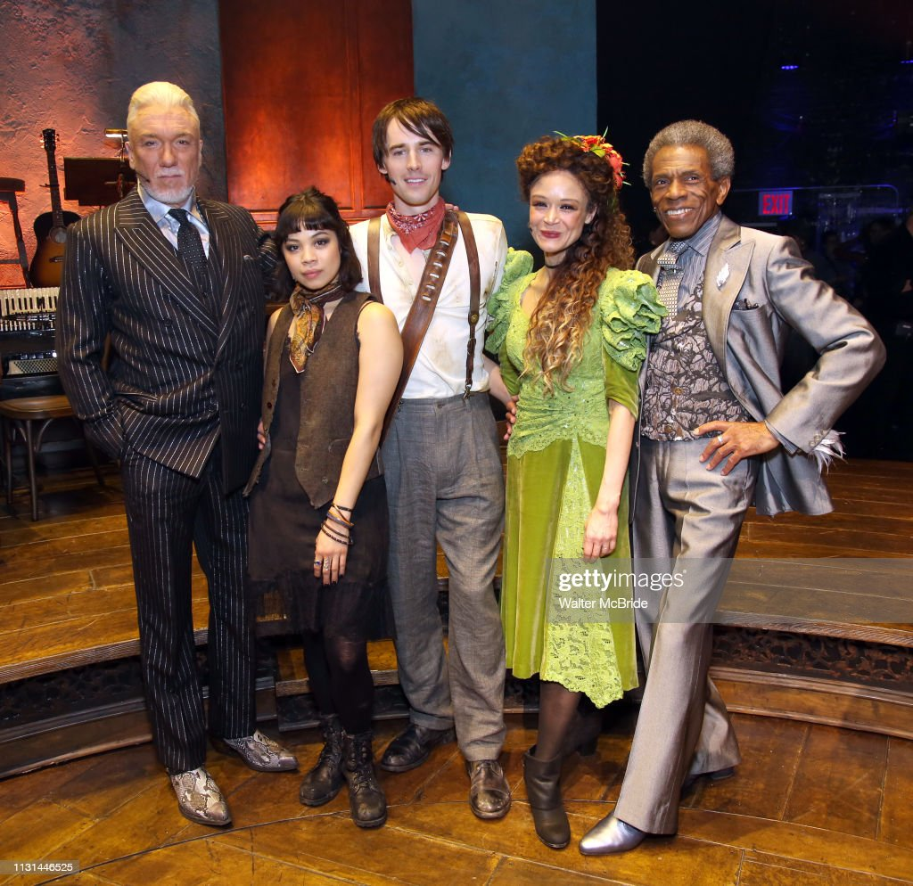 "NY: ""Hadestown"" Press Meet And Greet"