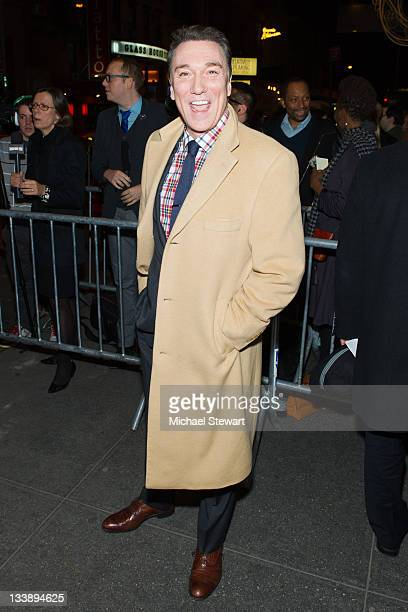Patrick Paige attends An Evening with Patti Lupone and Mandy Patinkin Broadway opening night at the Ethel Barrymore Theatre on November 21 2011 in...