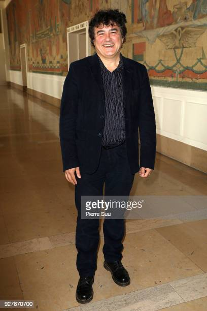 Patrick Pelloux attends the Agnes B show as part of the Paris Fashion Week Womenswear Fall/Winter 2018/2019 on March 5 2018 in Paris France