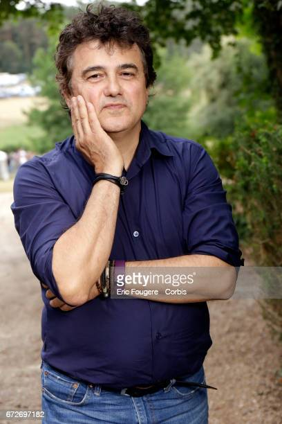 Patrick Pelloux poses during a portrait session in Paris France on