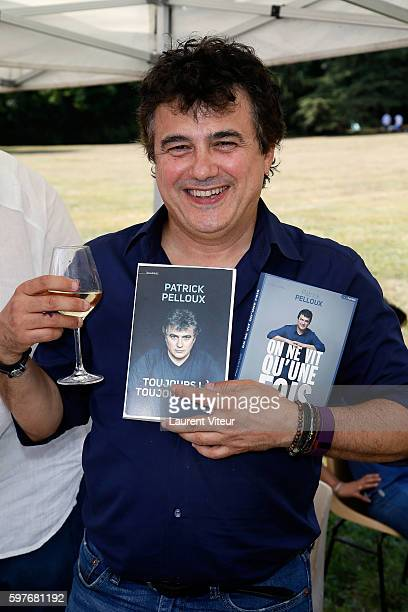 Patrick Peloux attends 21th 'La Foret des Livres' at ChanceauxPres Loches on August 28 2016 in Loches France