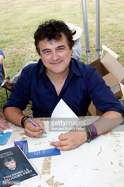 Patrick Peloux attends 21th 'la Foret des Livres' Book Fair at ChanceauxpresLoches on August 28 2016 in Loches France