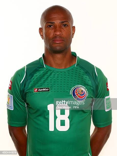 Patrick Pemberton of Costa Rica poses during the official FIFA World Cup 2014 portrait session on June 10 2014 in Sao Paulo Brazil