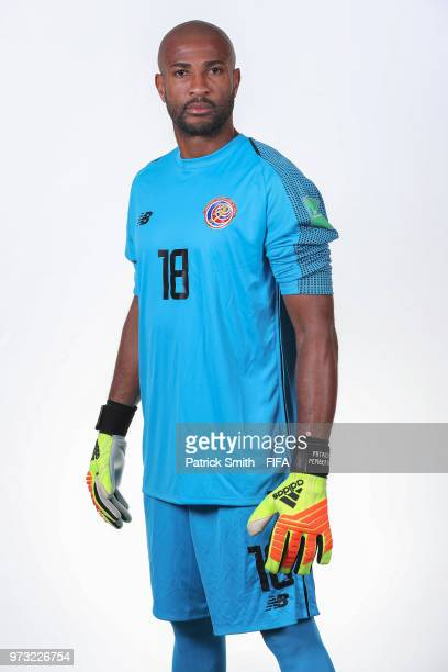 Patrick Pemberton of Costa Rica poses for a portrait during the official FIFA World Cup 2018 portrait session at the Hilton Saint Petersburg...