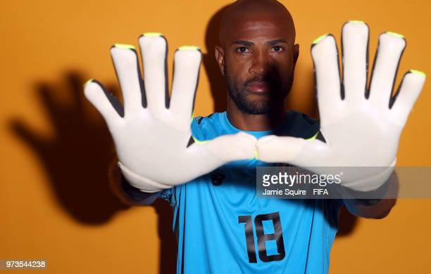 Patrick Pemberton of Costa Ricaposes during the official FIFA World Cup 2018 portrait session at on June 13, 2018 in Saint Petersburg, Russia.