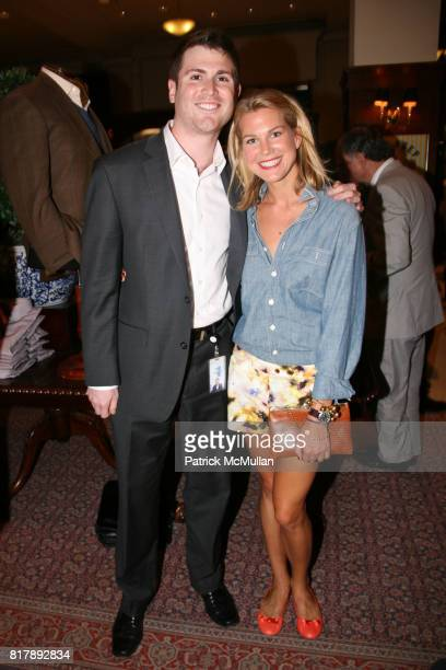 Patrick Pleiss and Cary Fuller attend The launch of True Prep at Brooks Brothers on September 14 2010 in New York