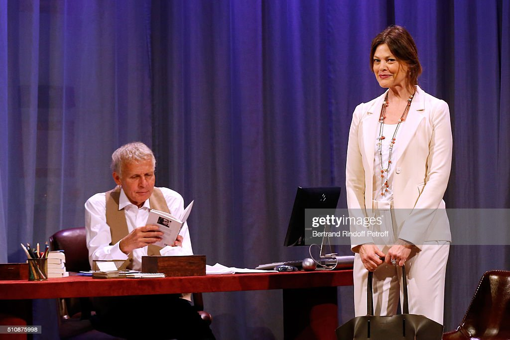 """Garde Alternee"" : Theater  Play At Theatre Des Mathurins In Paris"