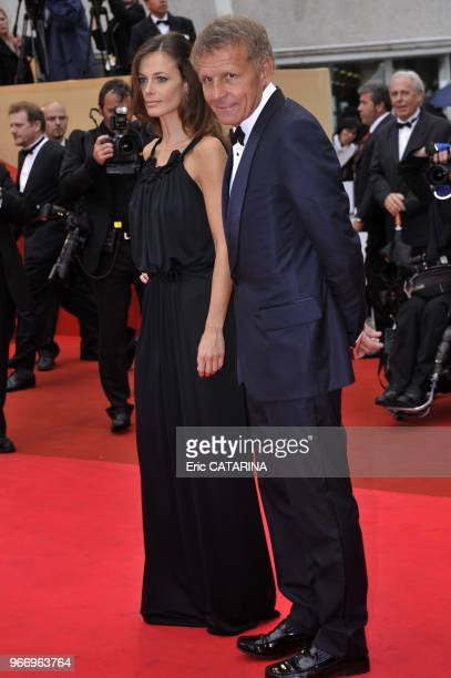 Patrick Poivre d'Arvor and girlfriend Agathe Borne
