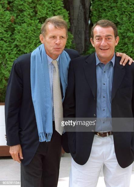 Patrick Poivre d'Arvor et JeanPierre Pernaut respectivement journalisteprésentateur depuis 14 ans du journal télévisé de 20 heures et...