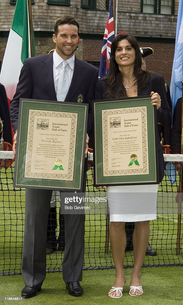 2006 International Tennis Hall of Fame Induction - July 15, 2006