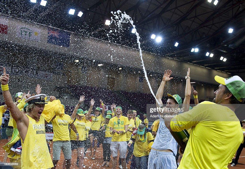 Davis Cup - Poland v Australia - Day 3