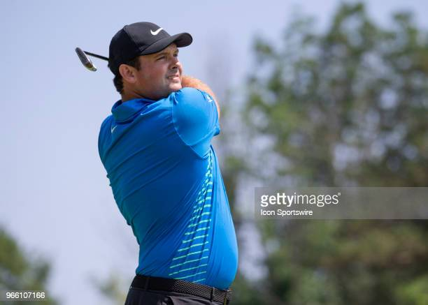 Patrick Reed during the third round of the Memorial Tournament at Muirfield Village Golf Club in Dublin Ohio on June 02 2018