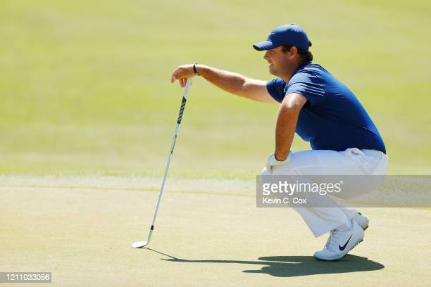 Patrick Reed of the United States lines up a putt on the second green during the third round of the Arnold Palmer Invitational Presented by...