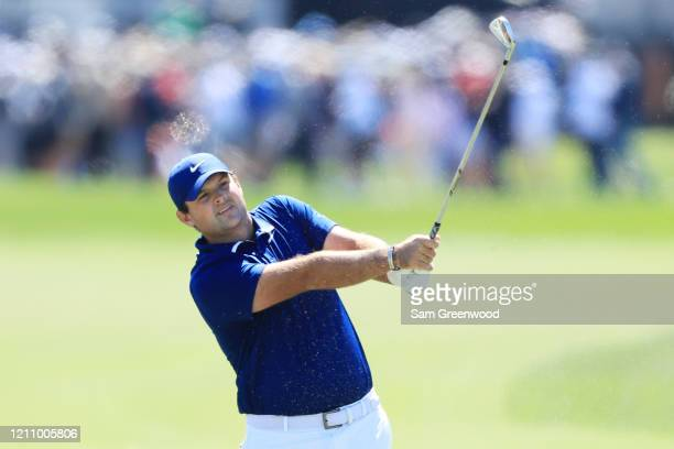 Patrick Reed of the United States plays a shot on the first hole during the third round of the Arnold Palmer Invitational Presented by MasterCard at...
