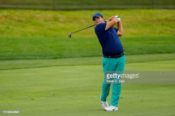 Patrick Reed of the United States plays a shot on the fourth hole during the first round of the Arnold Palmer Invitational Presented by MasterCard at...