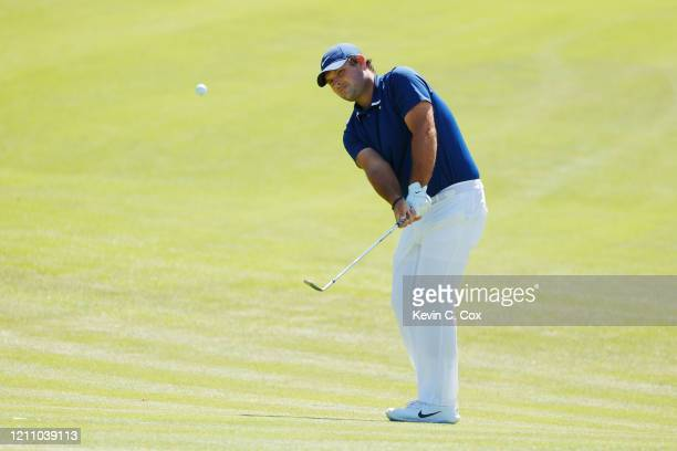 Patrick Reed of the United States plays a shot on the second hole during the third round of the Arnold Palmer Invitational Presented by MasterCard at...
