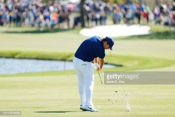 Patrick Reed of the United States plays a shot on the sixth hole during the third round of the Arnold Palmer Invitational Presented by MasterCard at...