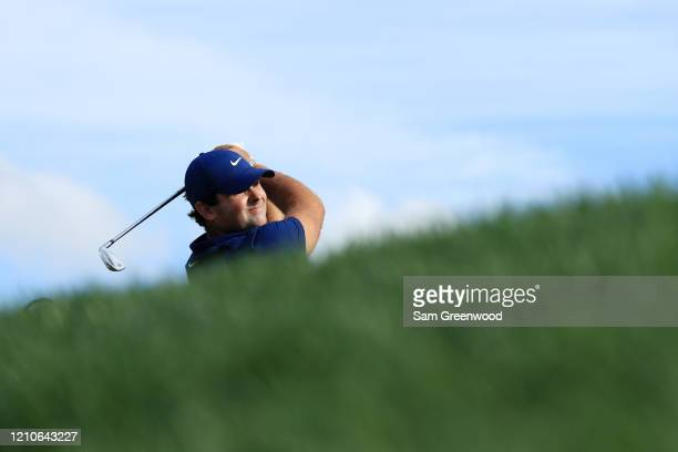 Patrick Reed of the United States plays his shot from the 14th tee during the first round of the Arnold Palmer Invitational Presented by MasterCard...