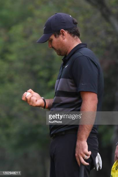 Patrick Reed of the USA competes during the last round the PGA World Golf Championship tournament at the Chapultepec Golf Club on February 23 2020 in...