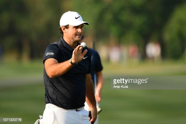 Patrick Reed of USA during day two of the Honma Hong Kong Open at The Hong Kong Golf Club on November 23 2018 in Hong Kong Hong Kong