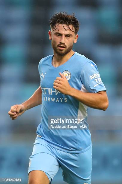 Patrick Roberts of Manchester City during the Pre Season Friendly between Manchester City and Preston North End at Manchester City Football Academy...
