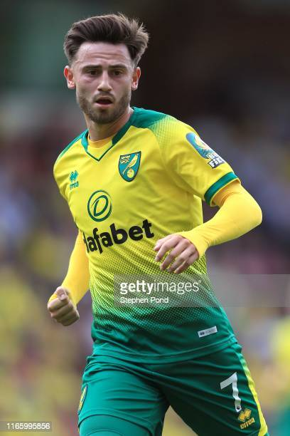 Patrick Roberts of Norwich City during the PreSeason Friendly match between Norwich City and Toulouse at Carrow Road on August 03 2019 in Norwich...
