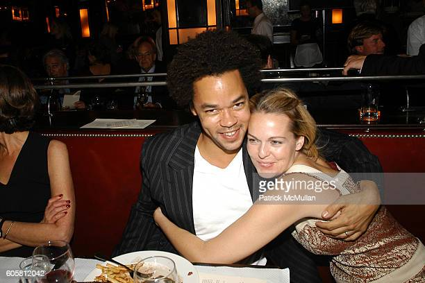 Patrick Robinson and Lauren Dupont attend Friends in Deed Fall Benefit Honoring Elie and Rory Tahari at Balthazar on October 19 2006 in New York City