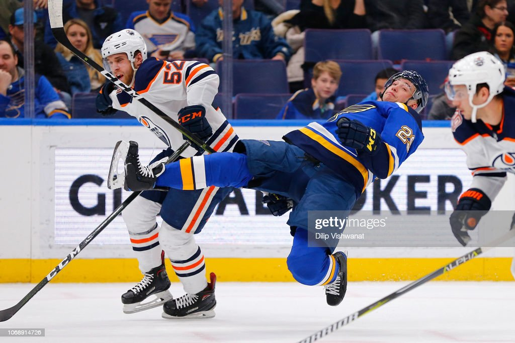 Edmonton Oilers v St. Louis Blues : News Photo