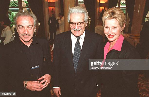 Patrick Scemama Omar Sharif and Daniele Gilbert