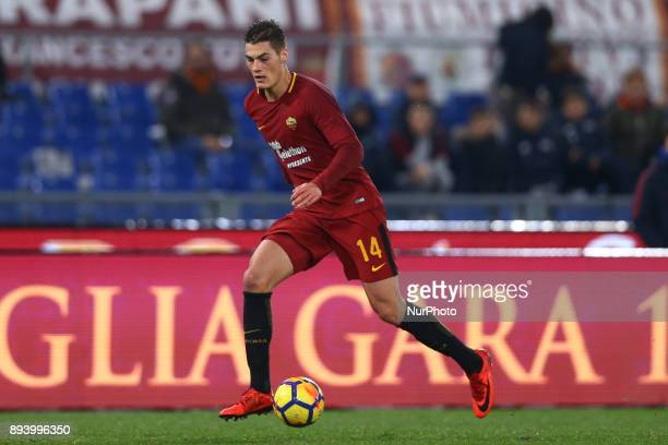 Patrick Schick of Roma during the Italian Serie A football match Roma vs Cagliari on December 16 2017 at the Olimpico stadium in Rome