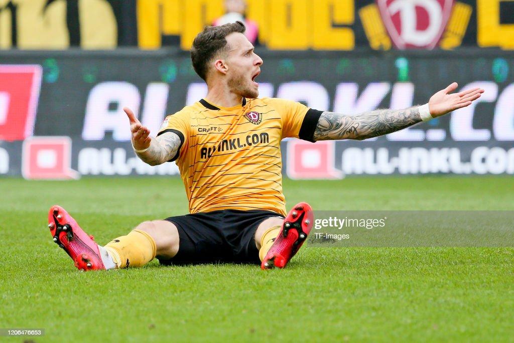 SG Dynamo Dresden v FC Erzgebirge Aue - Second Bundesliga : News Photo