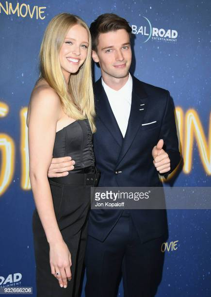 Patrick Schwarzenegger and Abby Champion attend the Los Angeles Premiere Midnight Sun at ArcLight Hollywood on March 15 2018 in Hollywood California