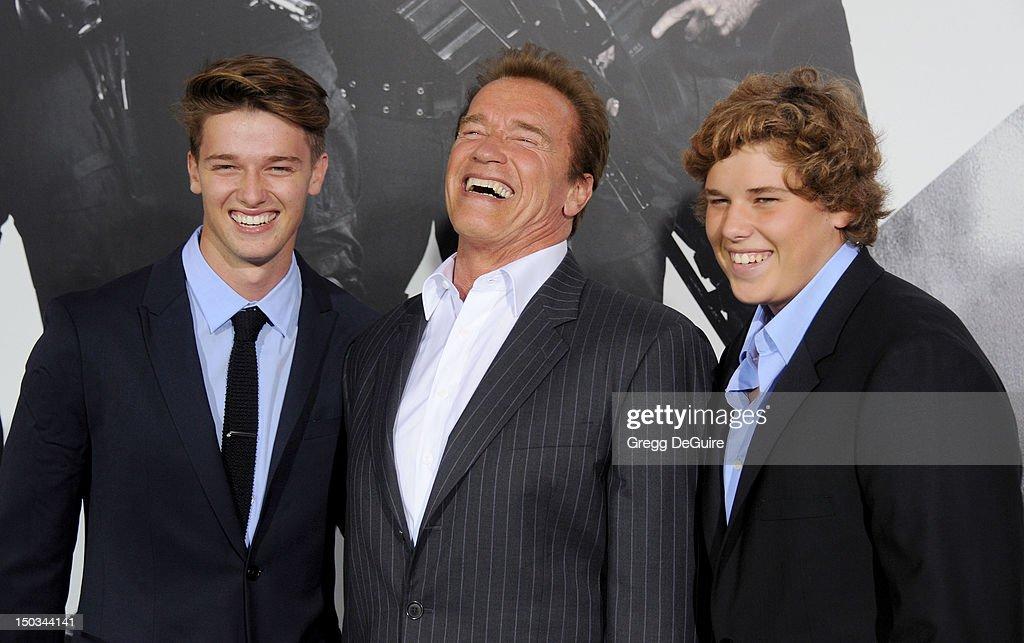 """The Expendables 2"" - Los Angeles Premiere - Arrivals : News Photo"