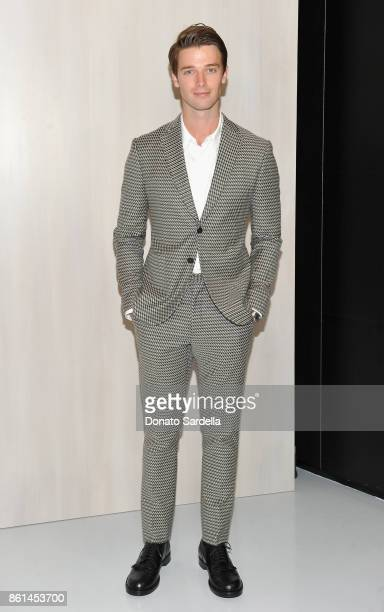 Patrick Schwarzenegger at the Hammer Museum 15th Annual Gala in the Garden with Generous Support from Bottega Veneta on October 14 2017 in Los...