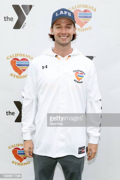 Patrick Schwarzenegger attends a charity softball game to benefit California Strong at Pepperdine University on January 13 2019 in Malibu California
