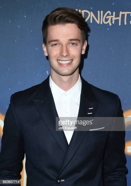 Patrick Schwarzenegger attends Global Road Entertainment's world premiere of Midnight Sun at ArcLight Hollywood on March 15 2018 in Hollywood...