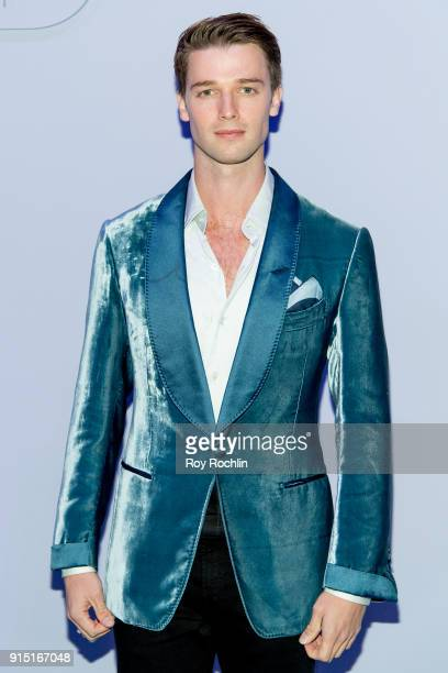 Patrick Schwarzenegger attends Men's Runway Show at Park Avenue Armory on February 6 2018 in New York City