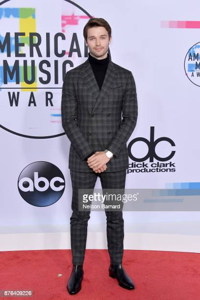 Patrick Schwarzenegger attends the 2017 American Music Awards at Microsoft Theater on November 19 2017 in Los Angeles California