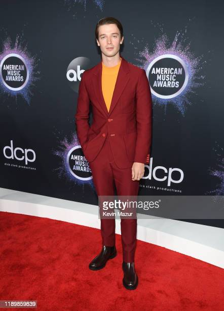 Patrick Schwarzenegger attends the 2019 American Music Awards at Microsoft Theater on November 24 2019 in Los Angeles California
