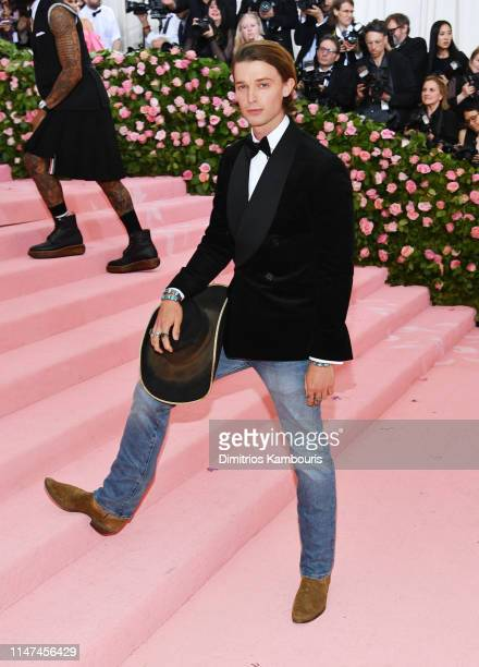 Patrick Schwarzenegger attends The 2019 Met Gala Celebrating Camp Notes on Fashion at Metropolitan Museum of Art on May 06 2019 in New York City