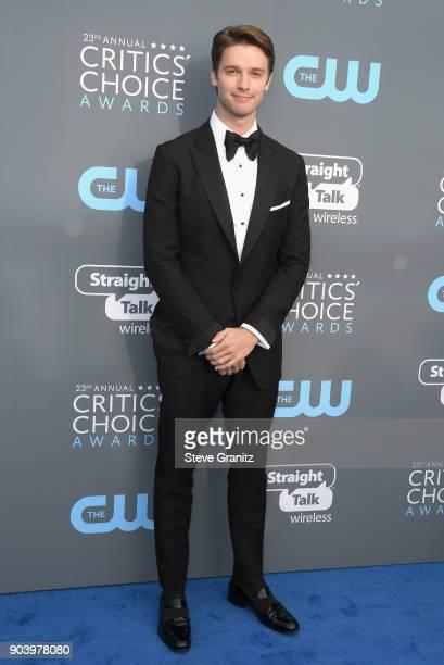 Patrick Schwarzenegger attends The 23rd Annual Critics' Choice Awards at Barker Hangar on January 11 2018 in Santa Monica California