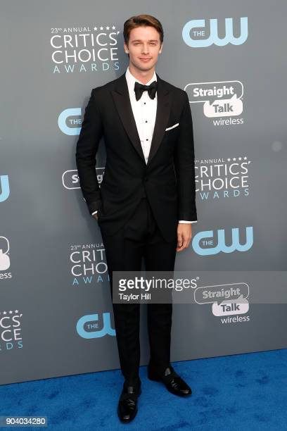 Patrick Schwarzenegger attends the 23rd Annual Critics' Choice Awards at Barker Hangar on January 11 2018 in Santa Monica California