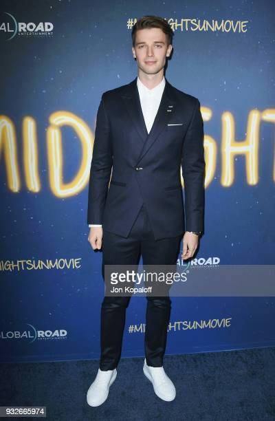 Patrick Schwarzenegger attends the Los Angeles Premiere Midnight Sun at ArcLight Hollywood on March 15 2018 in Hollywood California
