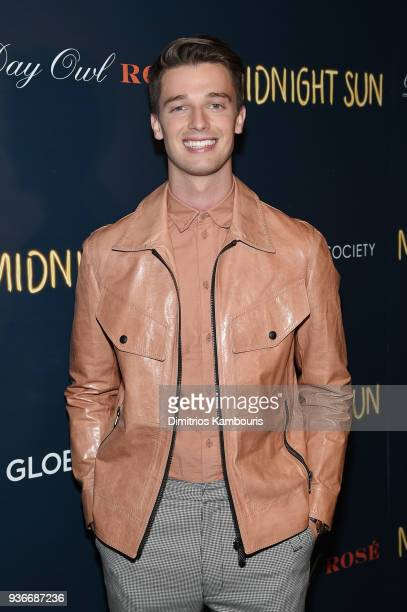 Patrick Schwarzenegger attends the screening of Midnight Sun at The Landmark at 57 West on March 22 2018 in New York City