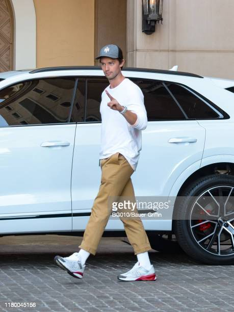 Patrick Schwarzenegger is seen on November 04 2019 in Los Angeles California