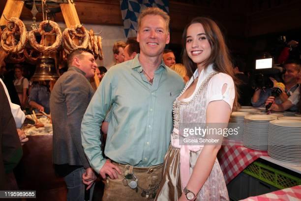 Patrick Schwarzenegger nephew of Arnold Schwarzenegger and Christina Maria Aurelia Schwarzenegger daughter of Arnold Schwarzenegger during the 29th...