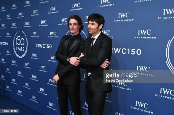 Patrick Seabase and Nenad Mlinarevic attend the IWC Schaffhausen Gala celebrating the Maison's 150th anniversary and the launch of its Jubilee...