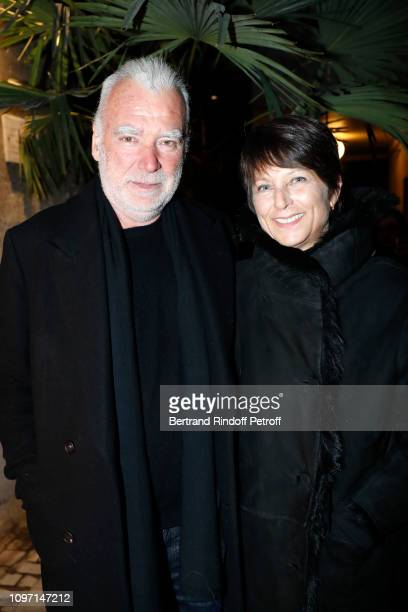 Patrick Seguin and his wife Laurence Seguin attend the Tribute To Azzedine Alaia as part of Paris Fashion Week on January 20 2019 in Paris France