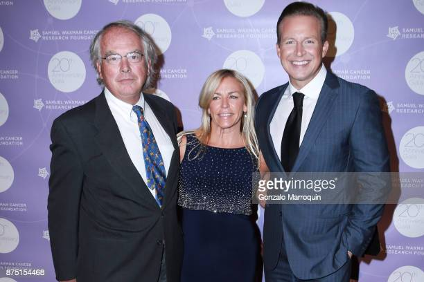 Patrick Sikorski Linda Parentice and Chris Wragge during the Samuel Waxman Cancer Research Foundation's COLLABORATING FOR A CURE 20th Anniversary...