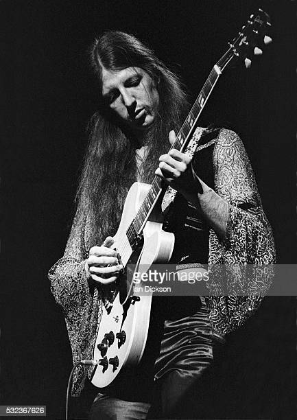 Patrick Simmons of Doobie Brothers performing on stage The Rainbow London United Kingdom 1975